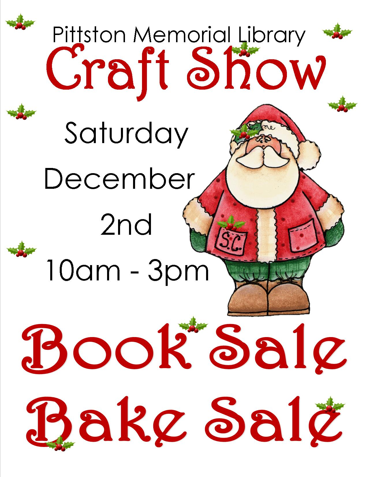 Pittston Memorial Library Craft Show