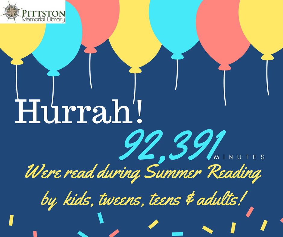 Summer reading pittston library