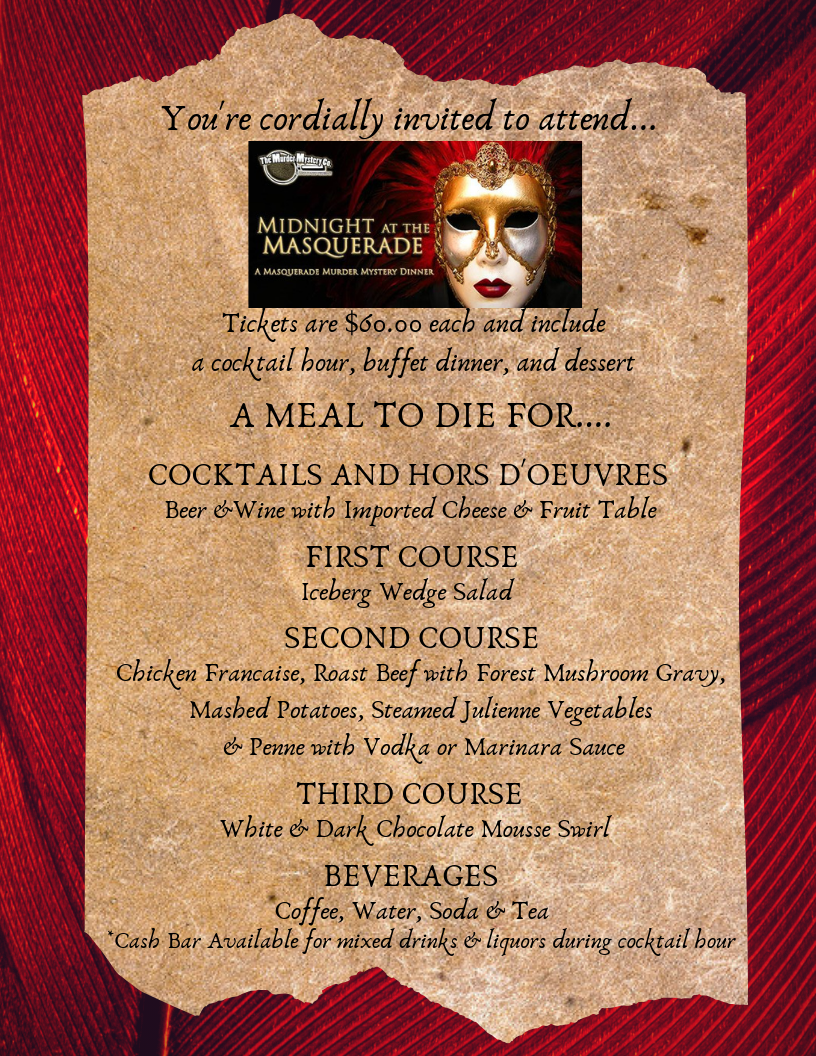 A menu to die for