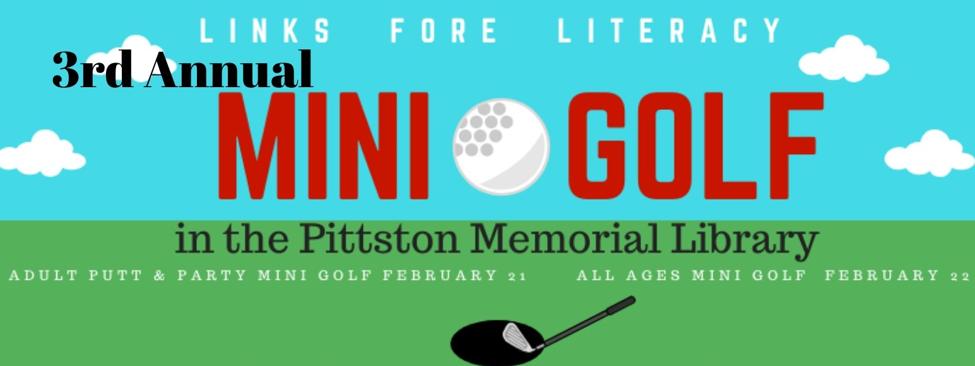 Mini Golf Banner 2020